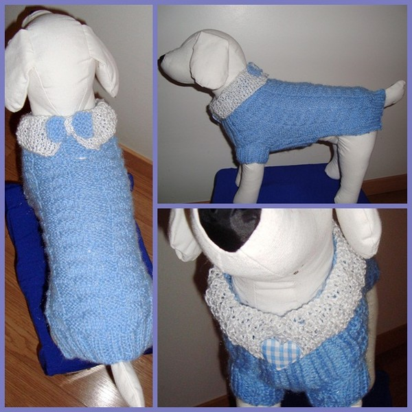 Manteau chihuahua au crochet
